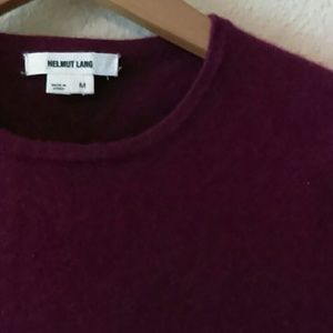 Helmet Lang cashmere sweater